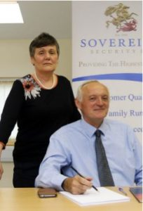 Ursula and Fabian Doyle